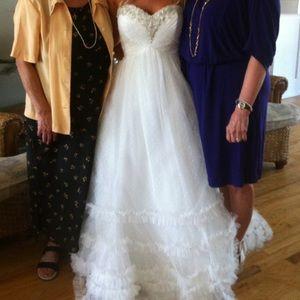 Jasmine couture wedding dress size 4